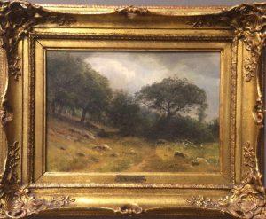 August Friedrich Kessler (1826 Tilsit - 1906 Düsseldorf) - Landscape Scene