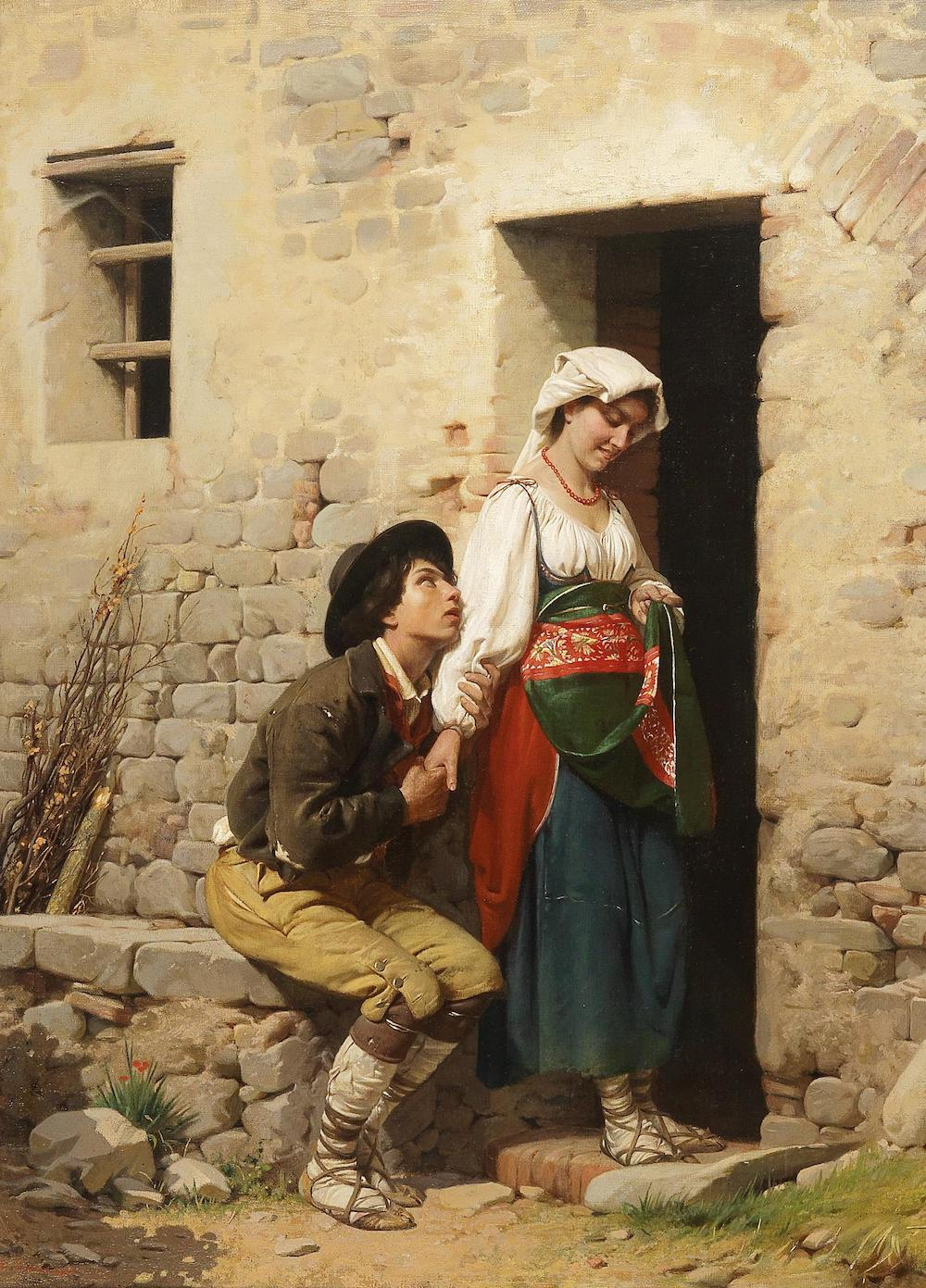 Eugen van Blaas Ciaranfi Italian