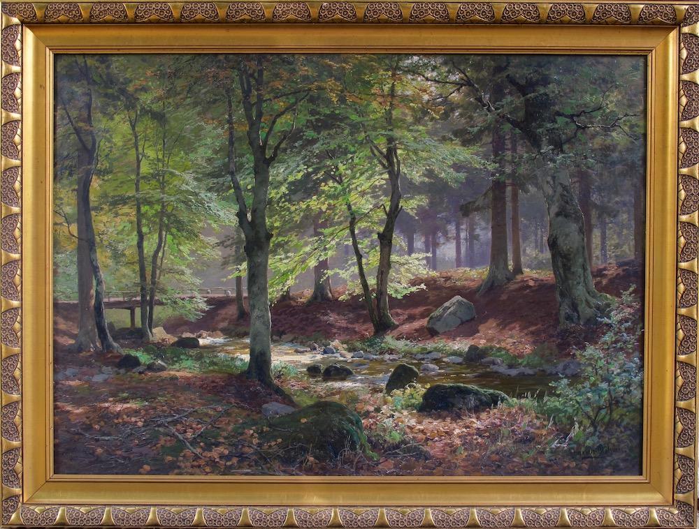Heinrich Böhmer - Landscape Painting Forest
