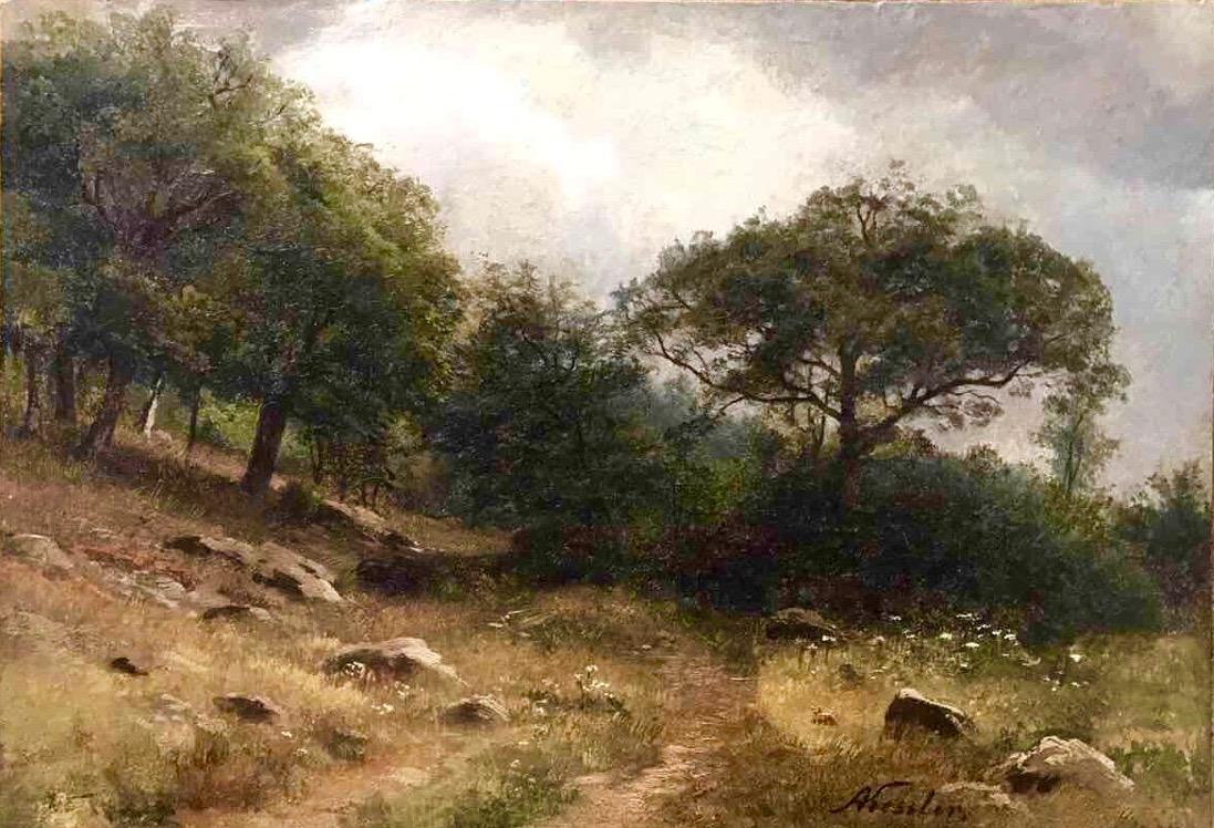 Август Фридрих Кесслер - Летний пейзаж