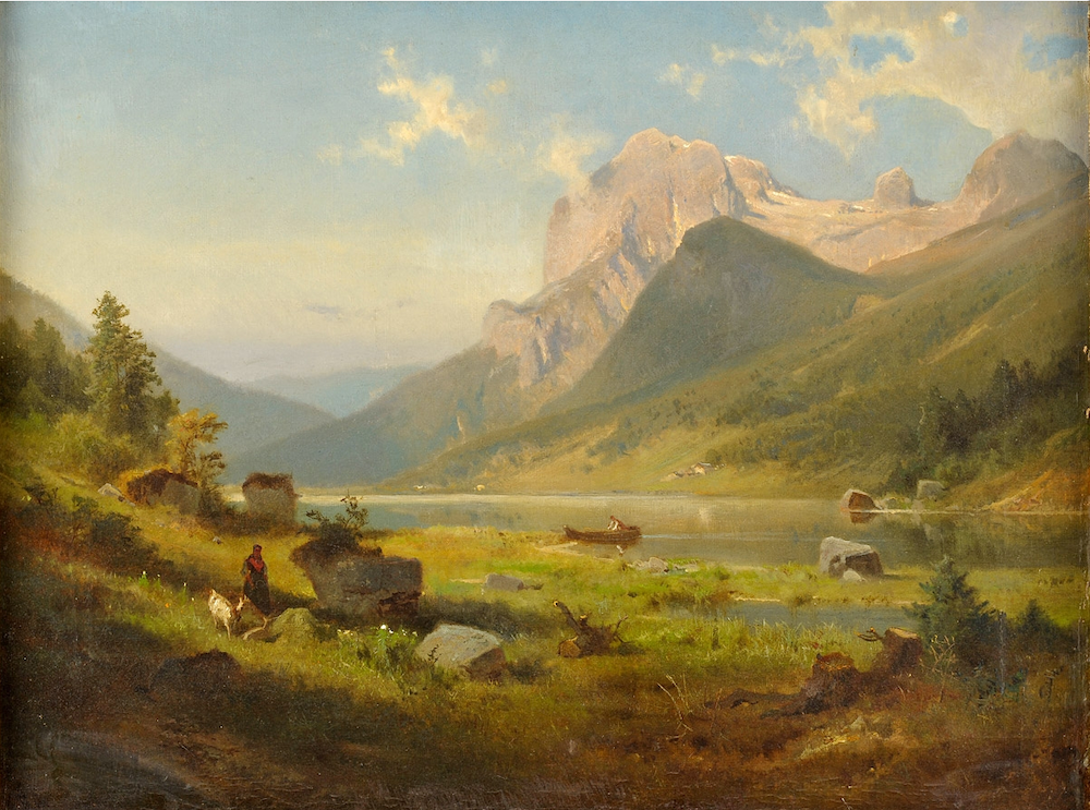 Бернард Гиршер - Озеро Хинтер (Берхтесгаденские Альпы)