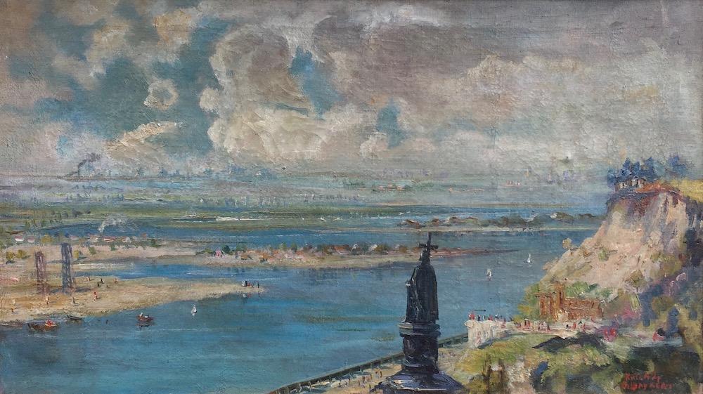 Vladimirskaya Hill, Kiev