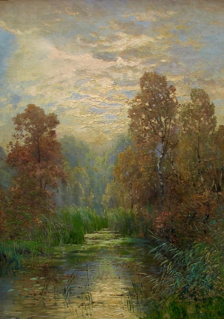 Оскар Лой живопись Картины оригинал 19 век европейский интерьер