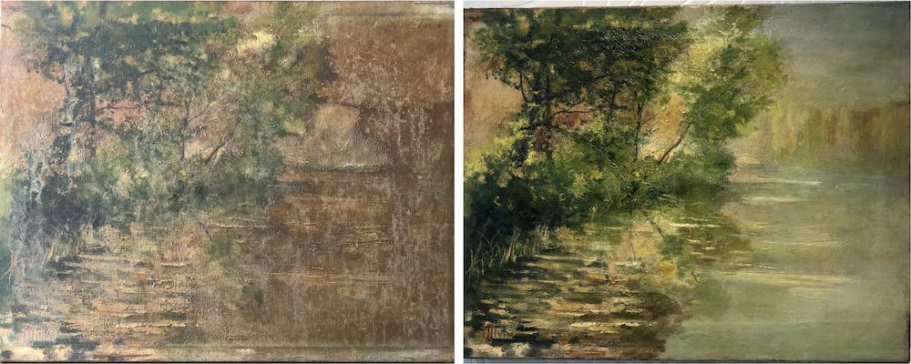 Restaurierung & Reinigung von antiken Gemälden in Wegberg, Heinsberg und NRW. Gemälderestaurierung, Gemäldereinigung, Einrahmung.