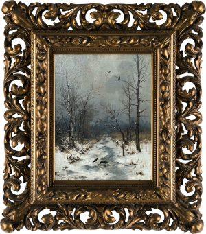 Heinrich Gogarten Winter landscpae